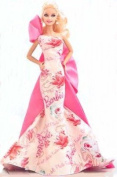 Avon Exclusive Caucasian Rose Splendour Barbie Doll