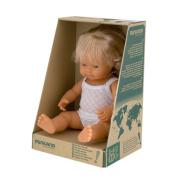 Miniland Baby Doll European Girl