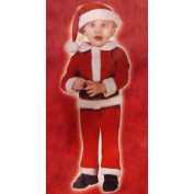 Little Santa Claus Toddler Costume - Size Small  .  s - 2T)