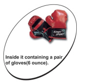 Kings Sport Childrens Boxing Sports Set With Gloves Punching Ball Bag Kids Toy 80-110