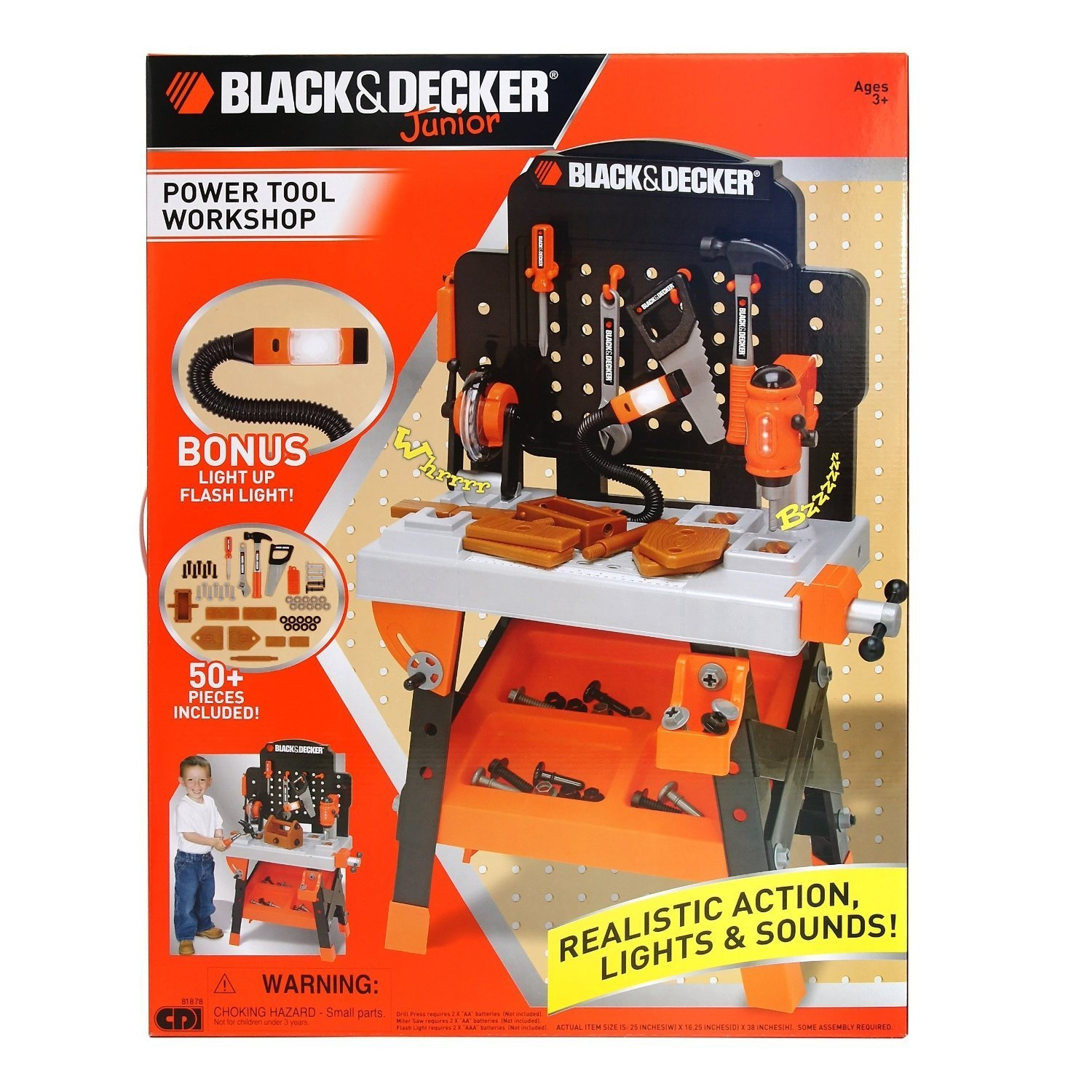 20218b9e1 Black and Decker Junior Power Tool Workshop by Black & Decker - Shop Online  for Toys in New Zealand