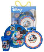 Mickey Mouse Clubhouse 3pc Dinnerware Set