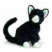 Melissa and Doug 11'' Plush Midnight The Black Cat Stuffed Animal