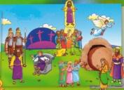 Beginners Bible Easter Story Flannelboard Figures - Pre-Cut