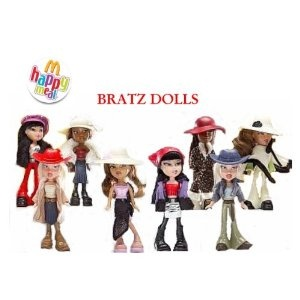 Mcdonalds - Bratz Complete Happy Meal Set - 2003 by Happy Meal Toys - Shop  Online for Toys in New Zealand 52486916bca