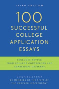100 Successful College Application Essays