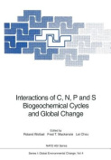 Interactions of C, N, P and S Biogeochemical Cycles and Global Change