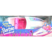 Swim 'n Dive BARBIE Speedboat - BOAT Fits 2 Barbie Size Dolls