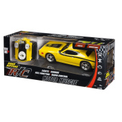 Yellow Radio Control Super Bee Muscle Car with Lights and Sound