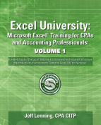 Excel University: Microsoft Excel Training for CPAs and Accounting Professionals