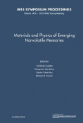 Materials and Physics of Emerging Nonvolatile Memories