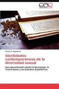 Identidades Contemporaneas de La Diversidad Sexual [Spanish]