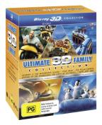 Happy Feet 2 / Legend of the Guardians / Journey 2 / The Polar Express / Yogi Bear (2010) (Ultimate Family 3D Blu-ray Boxset) (5 [Region B] [Blu-ray]