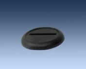 30mm Black Round Lipped Bases (10) 0017