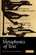 The Metaphysics of Text