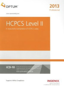 HCPCS Level II Professional - 2013