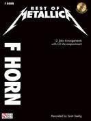 Best of Metallica, F Horn [With CD (Audio)]