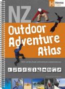 New Zealand Outdoor Adventure atlas spiral
