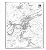 Hawick 1858 Heritage Cartography Victorian Town Map