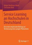Service Learning an Hochschulen in Deutschland [GER]