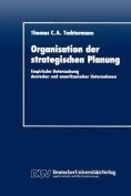 Organisation Der Strategischen Planung [GER]