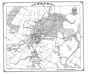 Jedburgh 1859 Heritage Cartography Victorian Town Map Series