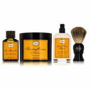 THE 4 ELEMENTS OF THE PERFECT SHAVE - LEMON (Pre Shave Oil+ Shave Crm+ A/S Balm+ Brush), 4pcs