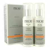 Idebenone PRO Peel Kit (Salon Size) : Pro Peel Gel + Pro Peel Cleanser, 2x180ml/6oz