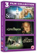 The Secret of Moonacre/A Little Princess/The Secret Garden [Region 2]