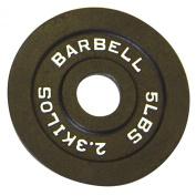 CAP Barbell 2.3kg Olympic Plate, Black
