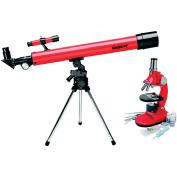 Tasco Refractor Telescope and Microscope Combo