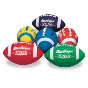 Multicolor Footballs Prism Pack Jr Size