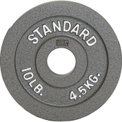 CAP Barbell 2.3kg Olympic Plate, Grey