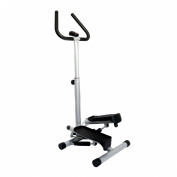 Sunny Health & Fitness Twister Stepper with Handle Bar