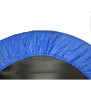 Upper Bounce Trampoline Accessories 100cm . Round Blue Safety Pad Spring Cover for 6 Legs Trampoline UBPAD-38-B