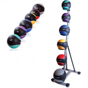 Cap Barbell Medicine Rack w/ Ball Set