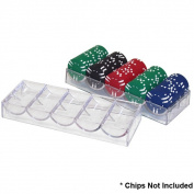 Trademark Poker Clear Acrylic Chip Rack/Tray