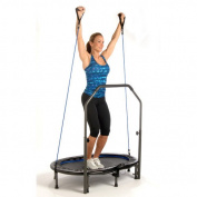 Avari Fitness Avari Oval Trampoline with Handlebar
