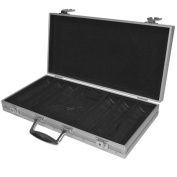 Poker 10-3001s 300 15g Clay Welcome to Las Vegas Chip Set with Aluminum Case