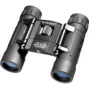 Barska Optics - Binoculars AB10110 10x25 Lucid View- Black- Compact- Blue Lens