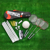Sterling Games Badminton/Volleyball Combo Game Set