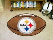 FanMats Pittsburgh Steelers Football Mat F0005828