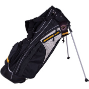 Courier Stand Bag, Black/Yellow