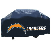 Rico Tag Industries 138775 San Diego Chargers Deluxe NFL Grill Cover