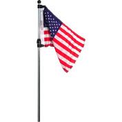 Seasense Telescoping Flag Pole with US Flag