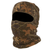 QuietWear Youth Digital Knit 1-Hole Mask, Adventure Brown