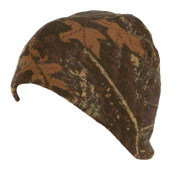 QuietWear Digital Knit Camo Beanie, Adventure Brown