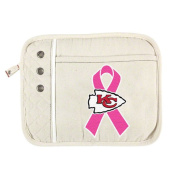 NFL - Kansas City Chiefs Breast Cancer Awareness Old School Canvas Tablet Case