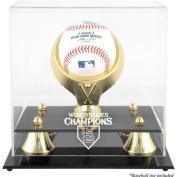 MLB - St. Louis Cardinals 2011 World Series Golden Classic Single Baseball Logo Display Case