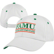 NCAA - Florida A&M Rattlers 'The Game' Classic White Bar Adjustable Hat
